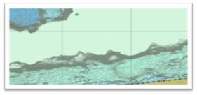 gedetailleerde diepte informatie in een Port ENC